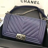 CHANEL Lee Boy CC A067086